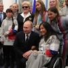 Путин восхитился выступлением российских паралимпийцев в Пхенчхане