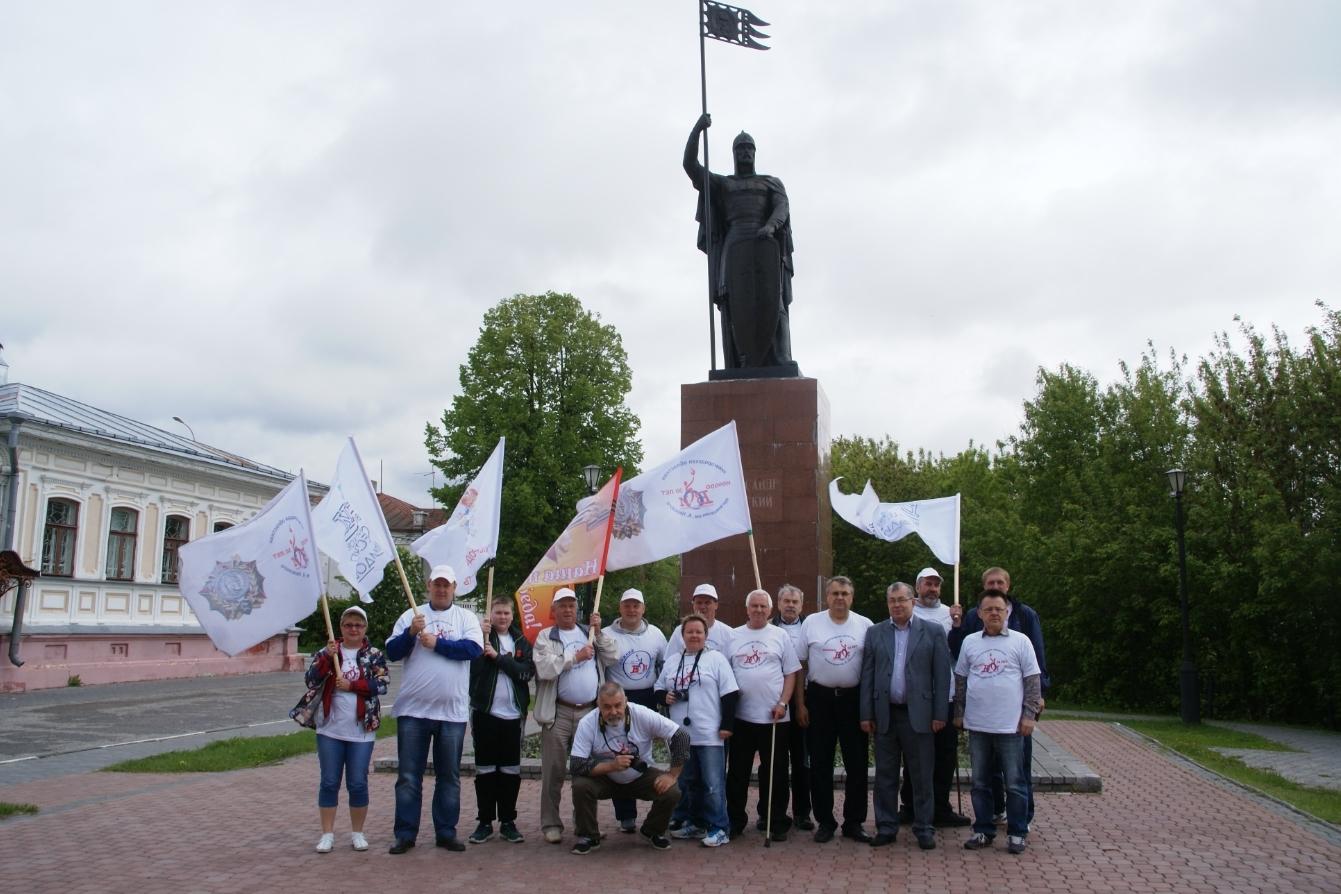 В Нижнем Новгороде стартовал автопробег «Александр Невский — знамя наших побед!»