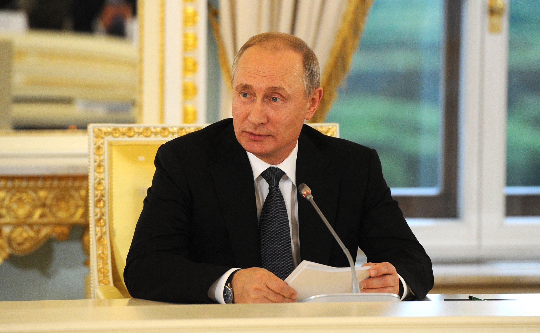5 декабря Председатель ВОИ Михаил Терентьев принял участие во встрече Президента России Владимира Путина с общественными организациями инвалидов