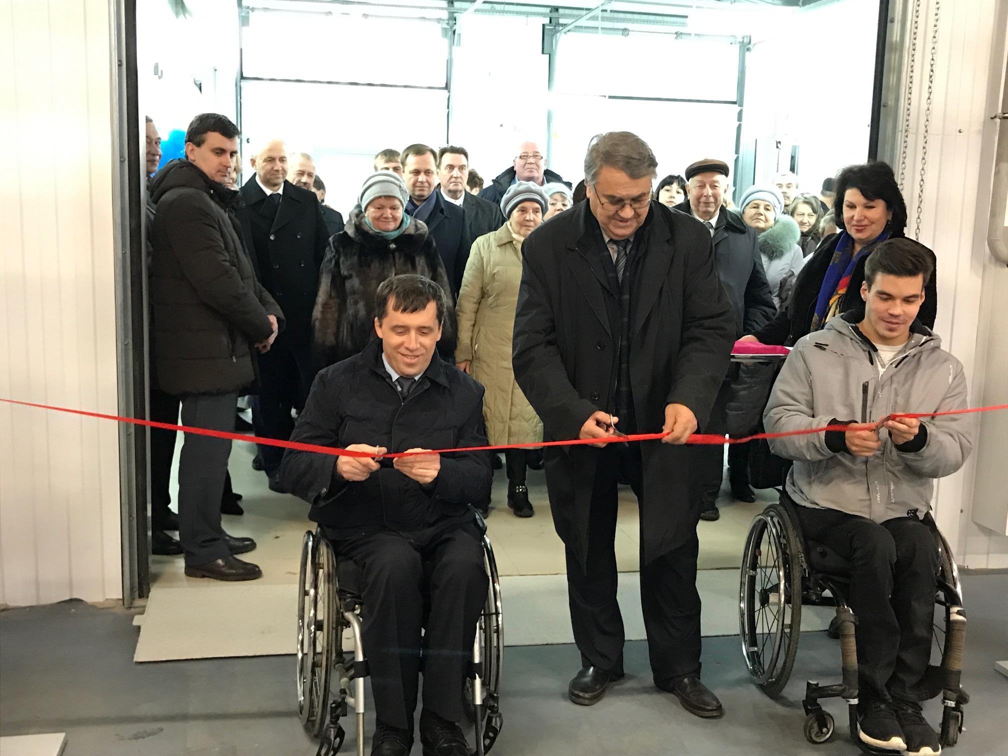 Открылась станция технического обслуживания автомобилей для людей с инвалидностью Нижегородской областной организации Всероссийского общества инвалидов