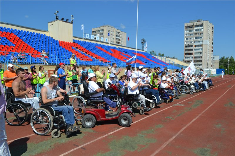 Выксунская организация молодых инвалидов «Эдельвейс» приняла участие в первом областном фестивале культуры и спорта среди людей с ограниченными возможностями «Окский ПараФест»