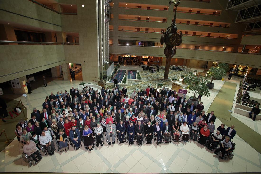 VI съезд Всероссийского общества инвалидов