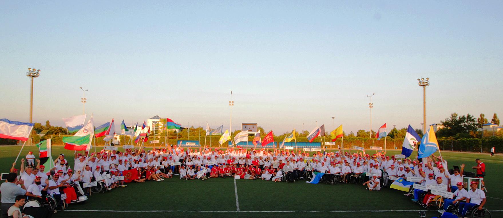 Торжественная церемония закрытия фестиваля Пара Крым 2017 и награждение участников